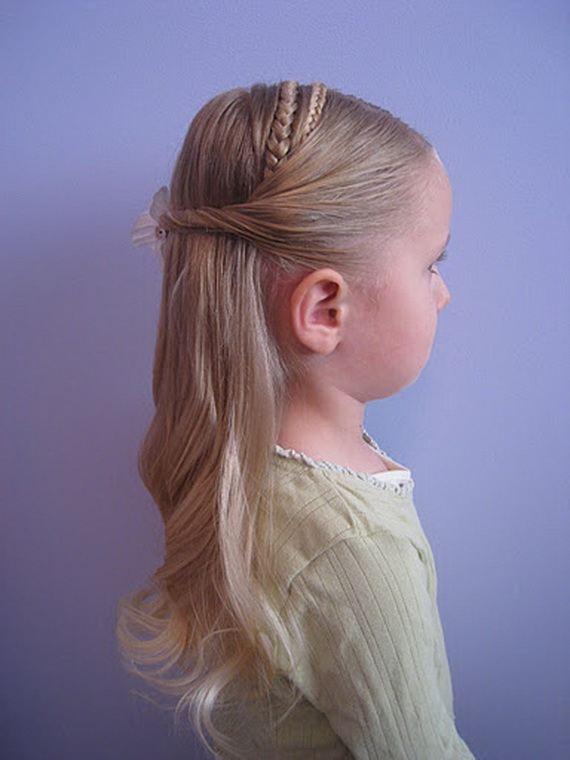 Hairstyles for Flower Girls | StyleCry: Bridal Dresses, Women Wear ...