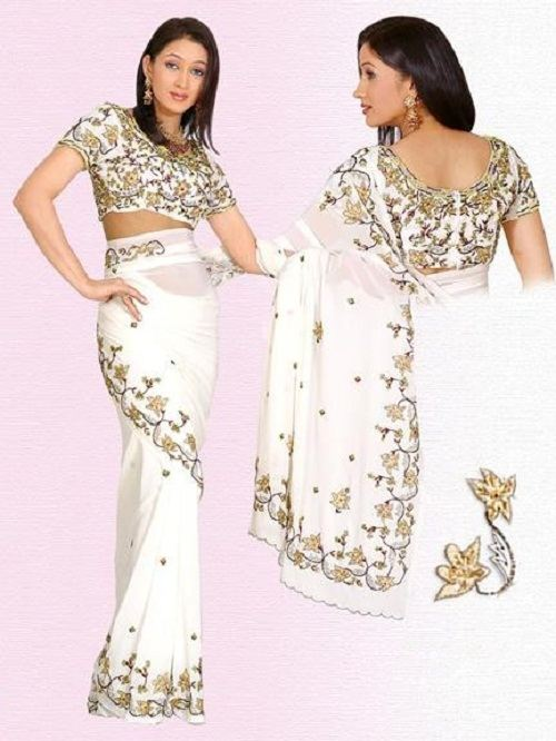 Design Saris Blouses 2012