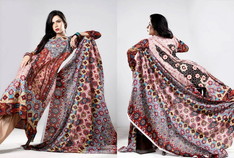 Eiza lawn Collection 2012